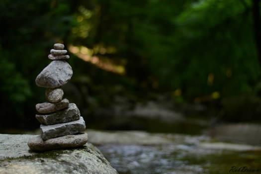 Tower of rocks