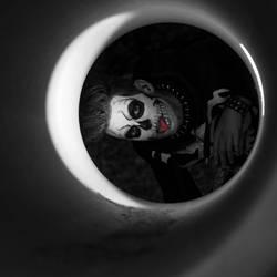 Skullman in the tube
