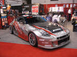 tuned up Nissan 350Z