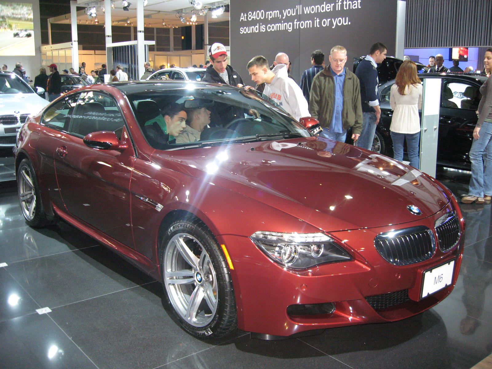 BMW M6 Chicago Auto Show 2008