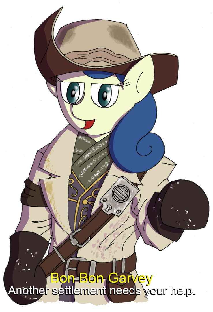 Commission - Bon Bon Garvey by Passer-in-the-Storm