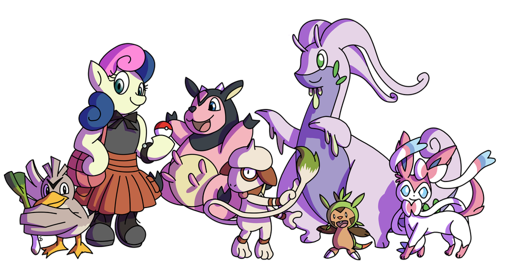Commission - Pokemon Dream Teams, Team Two by Passer-in-the-Storm