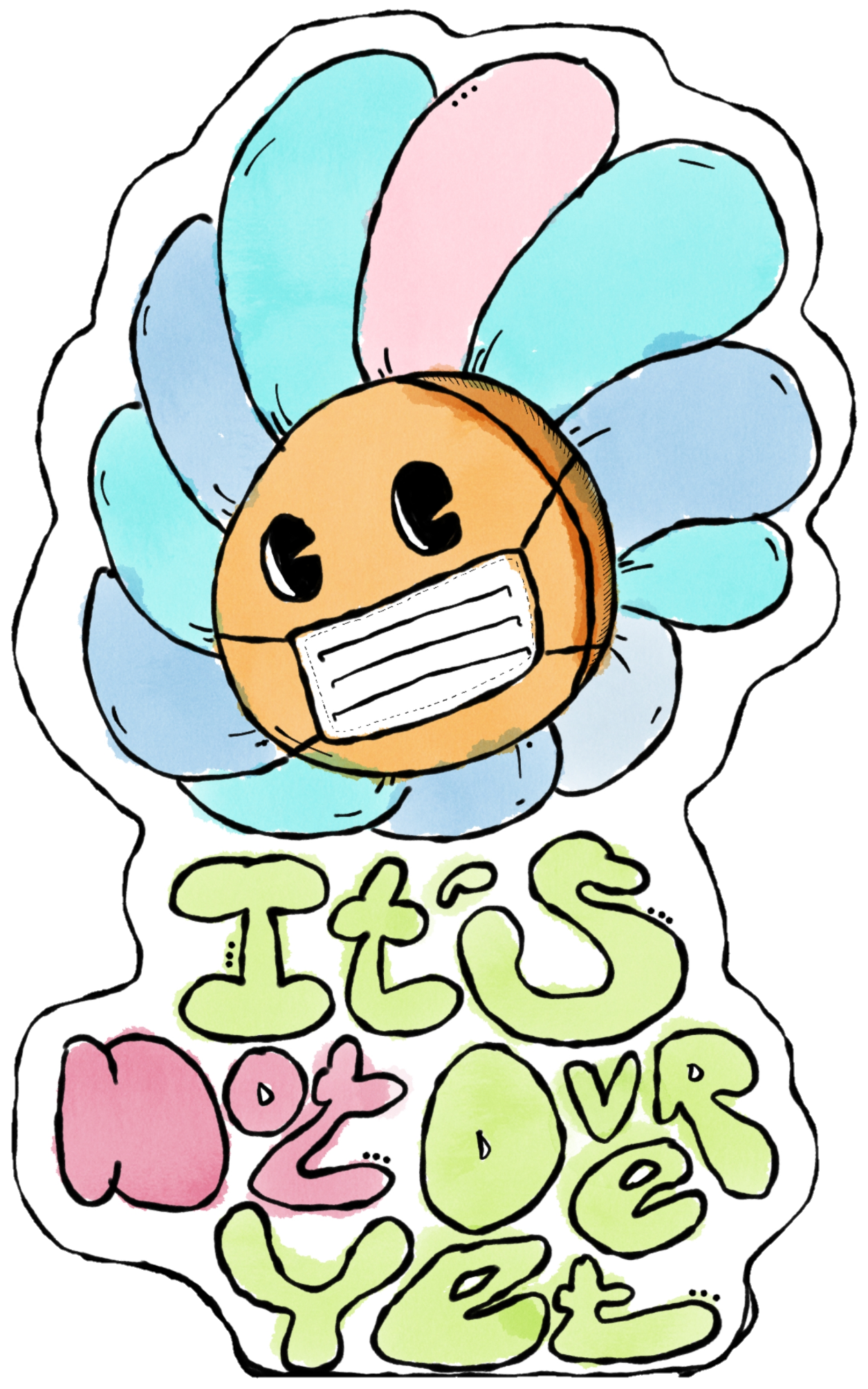 Sticker Design: Fatal Flower