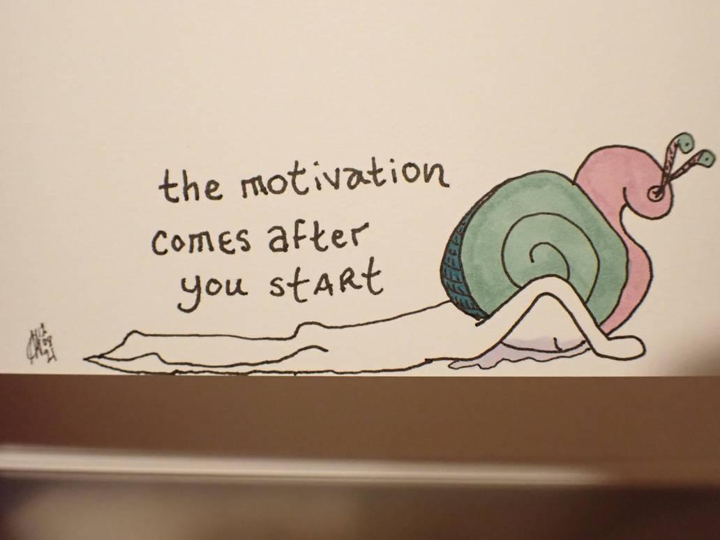 ALTERNiTS: starting like a snail is still starting