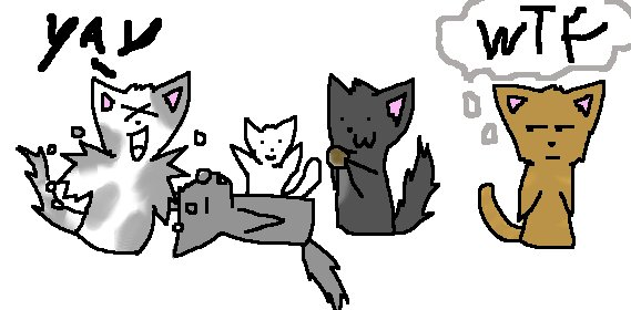 Chibi Warrior Cat Randomness by ShidatheUmbreon on DeviantArt  Warrior Cat Chibi