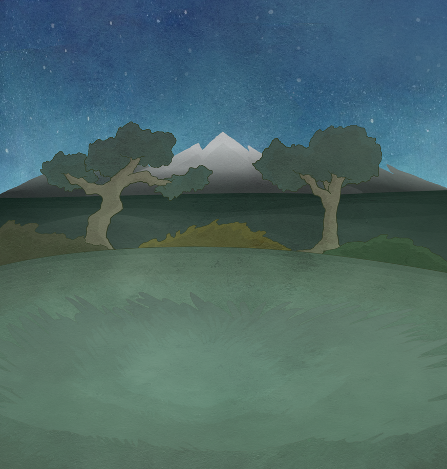 Distant Mountains Background by ShidatheUmbreon