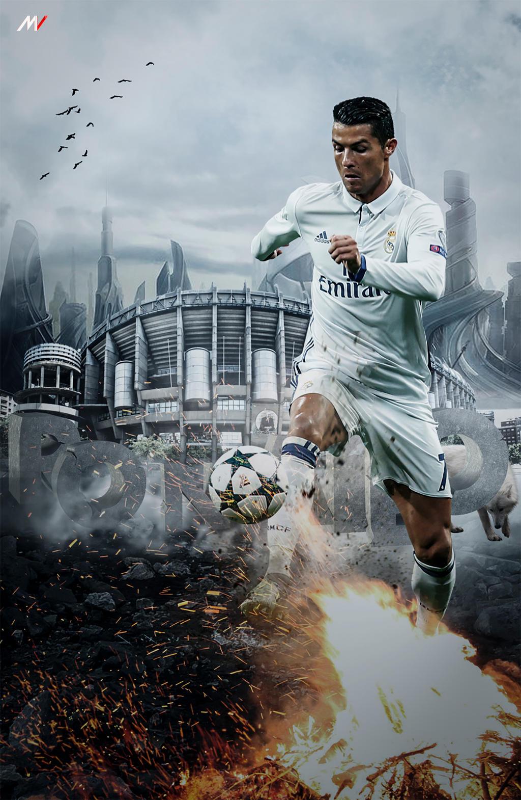 Cristiano Ronaldo Wallpaper 2016 by ShibilyMV7 on DeviantArt