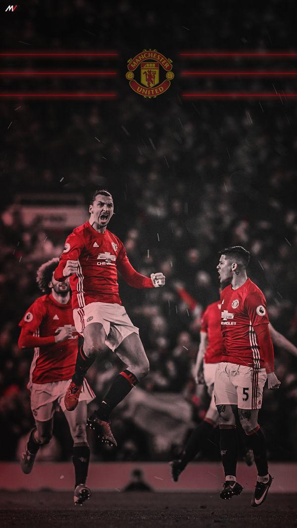 Manchester United Lock Screen Wallpaper By Shibilymv7 On