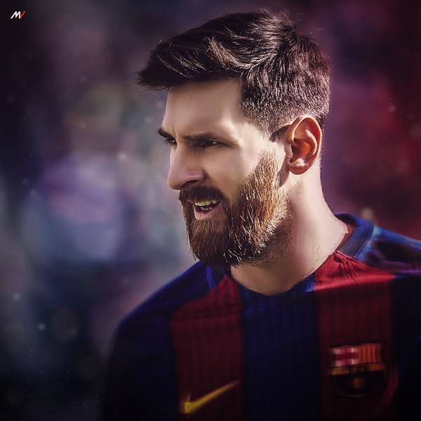 Lionel Messi Retouch By ShibilyMV7
