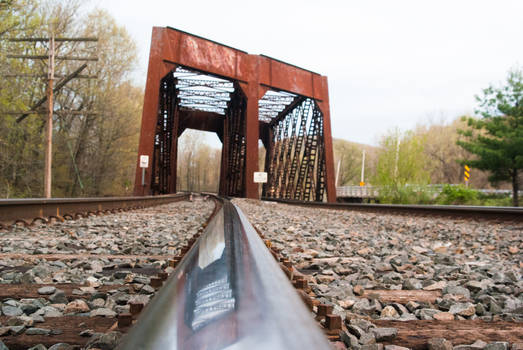 Reflection of the Rails