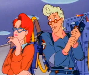 Egon and Janine- Egon's Look of Love by bluecinderella4