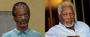 Old Reece GTA - Morgan Freeman