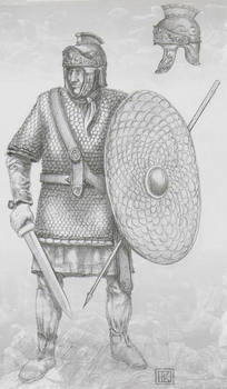 Pretorian of Maxentius with effects