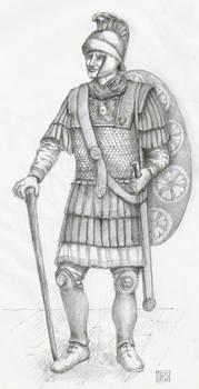Attic Helmet mid III Century.