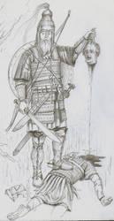 Langobard  Gasindius 570 AD orig