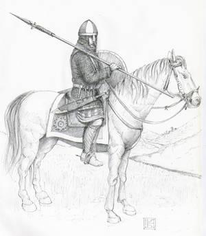 'Miles', Lotharingia 842 AD.