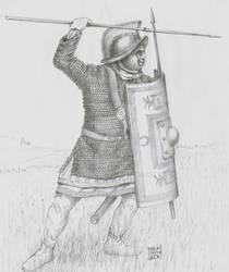 Attic Helmet  III century AD.