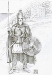 Langobard Gasindius 645 AD