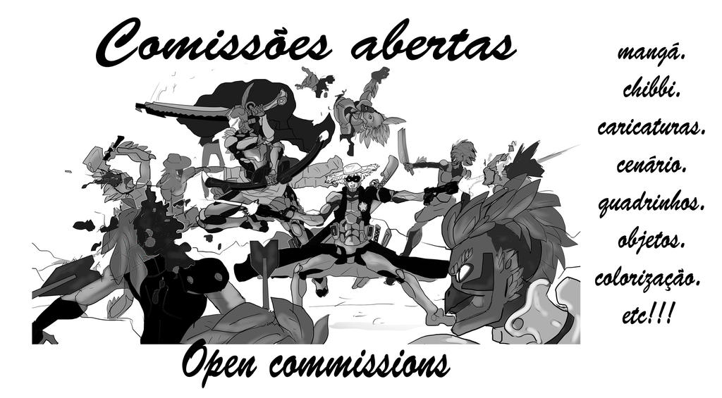 Comissions Open2 by wilsonnera