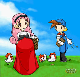 Harvest Moms - Popurri by SaburoX