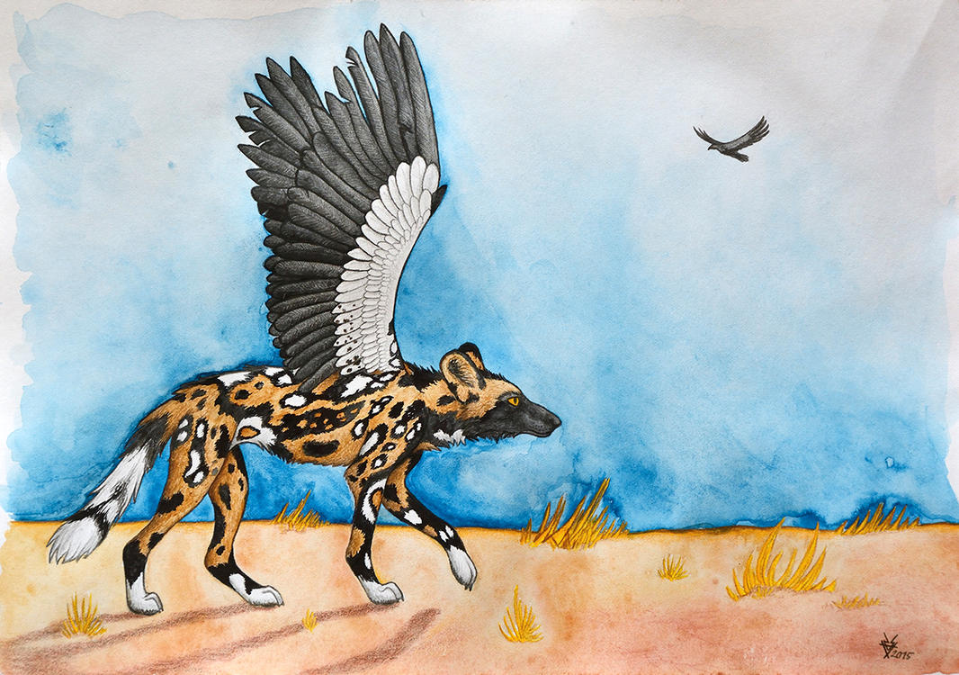 African Simurgh by Ratshaman