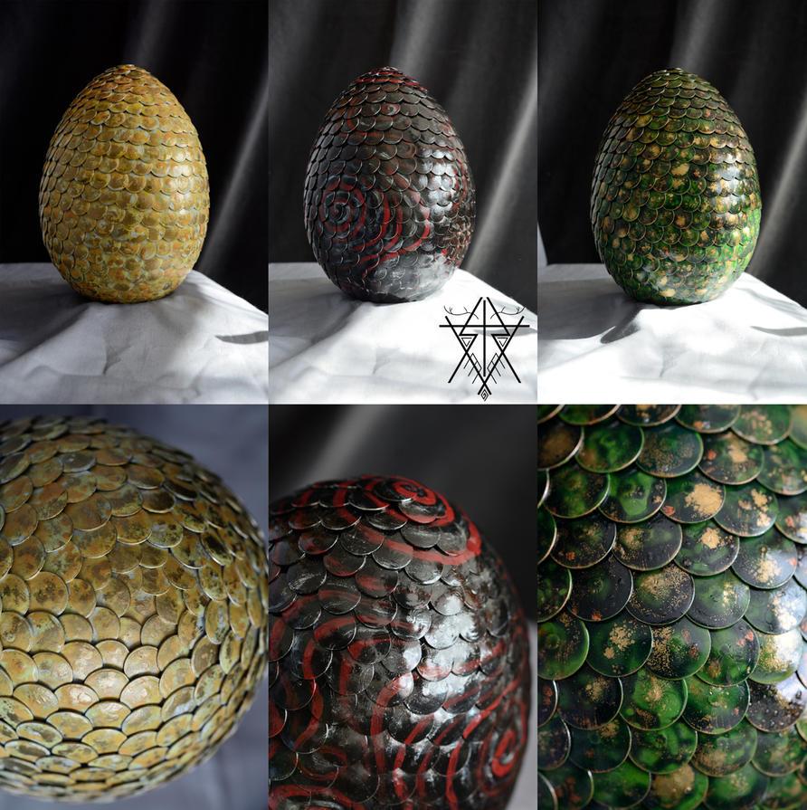 Dragon Eggs - Details by Ratshaman