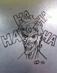 Stainless Joker by MetalPudding