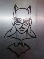 Stainless Batgirl