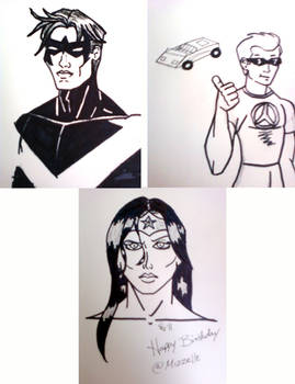 DC Sketches