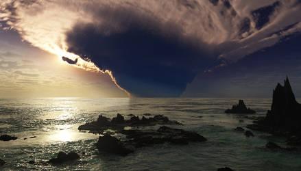 Spike Island Vortex by jamesgrote