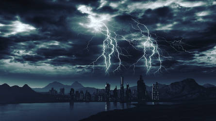 Electrical Disturbance by jamesgrote