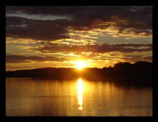 Sunset at Stony Creek Pt 2 by VileDemoness