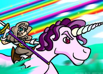 Terraria Unicorn Ride by Notori0us7