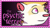 Psychic Ferret Stamp by PsychicFerret