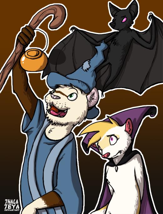 Halloween 2012 by PsychicFerret