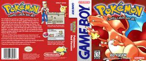 Pokemon Red - HQ Custom DS Cover Recreation