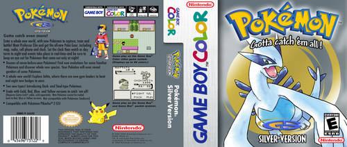 Pokemon Silver - HQ Custom DS Cover Recreation by DarkshadeDX