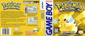 Pokemon Yellow - HQ Custom DS Cover Recreation