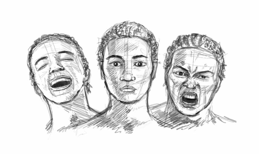 Emotional Pictures to Draw Drawings of Faces Emotions