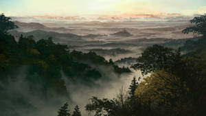 Elvoria Morning by Robedirobrob