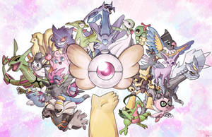 Pokemon Mystery Dungeon! by CPTBee