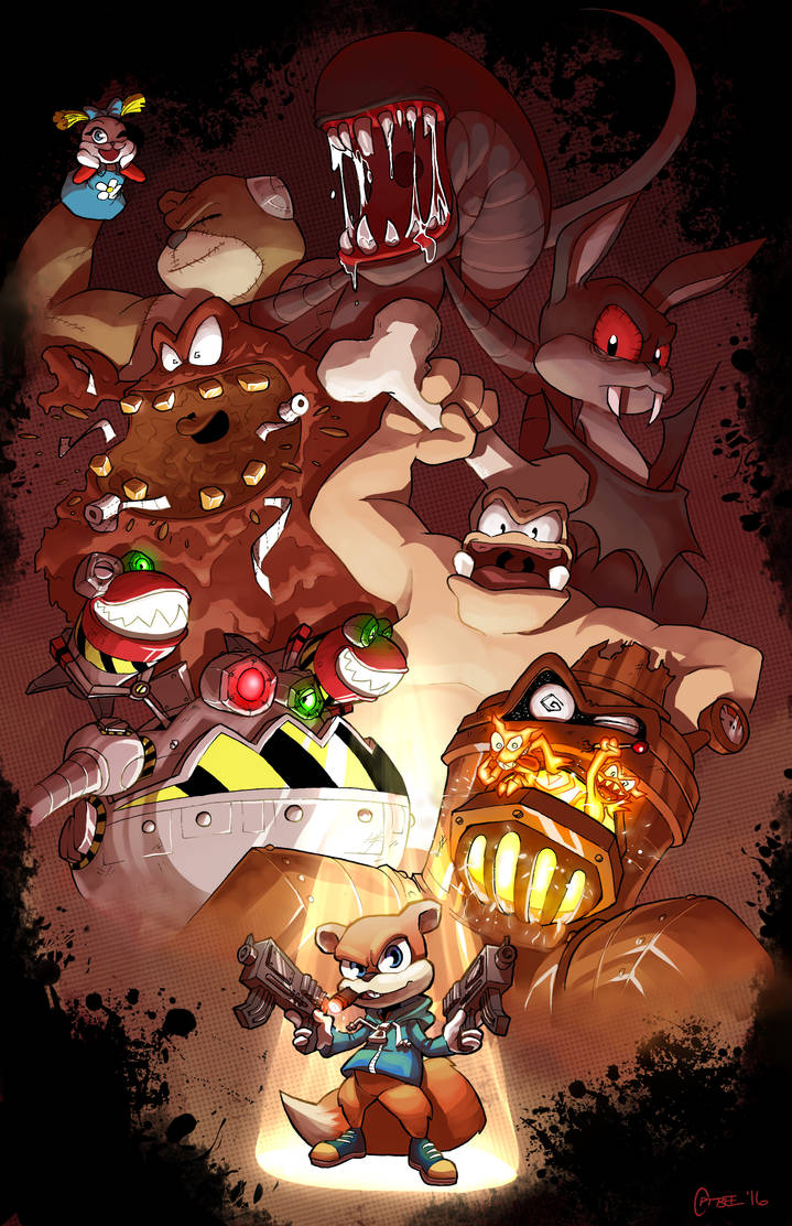 Conker S Bad Fur Day Boss Compilation By Cptbee On Deviantart