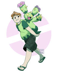 Trainer Jake and Maractus! by CPTBee