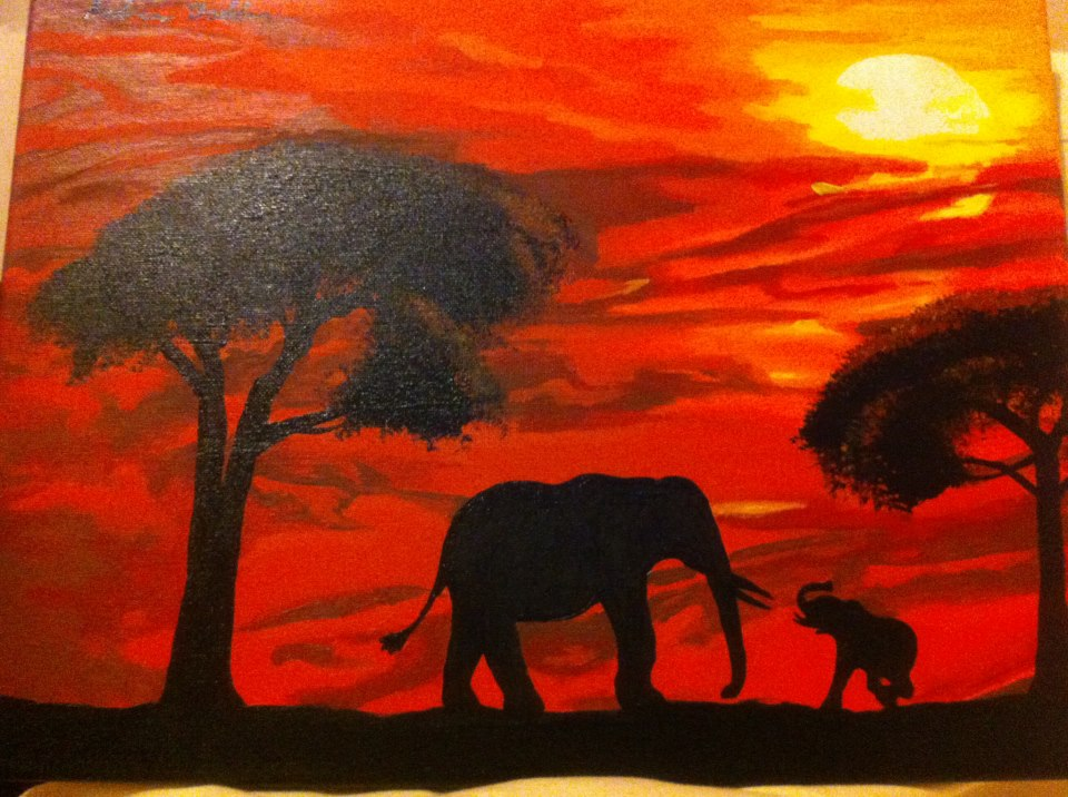 kenya sunset by bodz2010