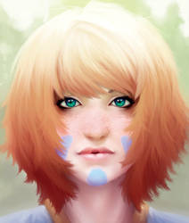 Face of hero by kronoshooko