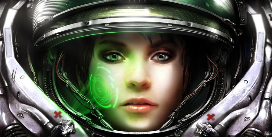 starcraft space marine artwork - photo #35