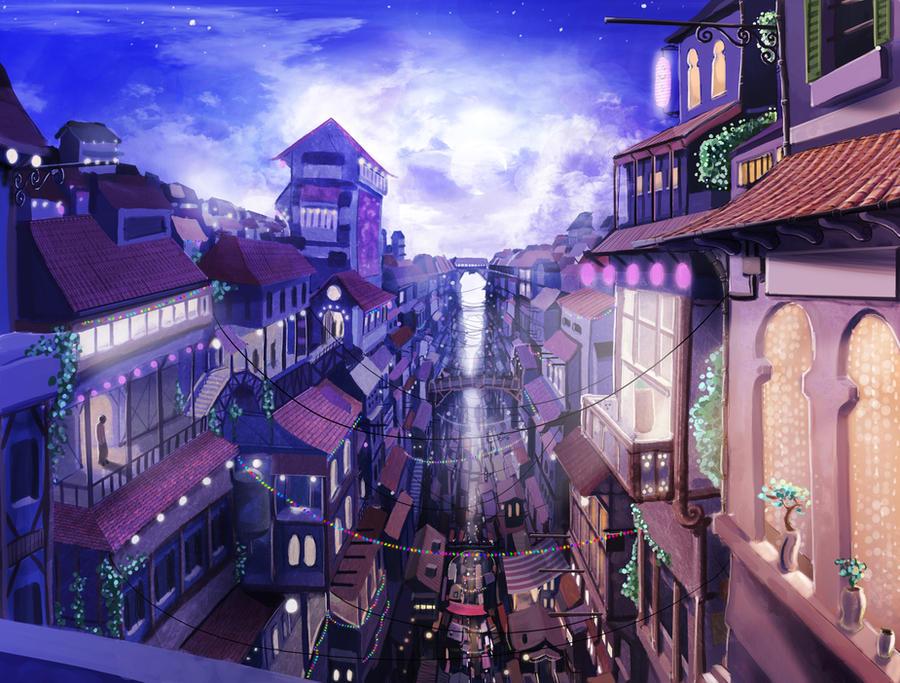 Cityscape by VonSchlippe