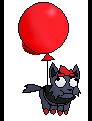 Balloon Derpy sprite by LukeTheeMewtwo