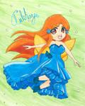 Fairy Orihime by Tuliharja-art