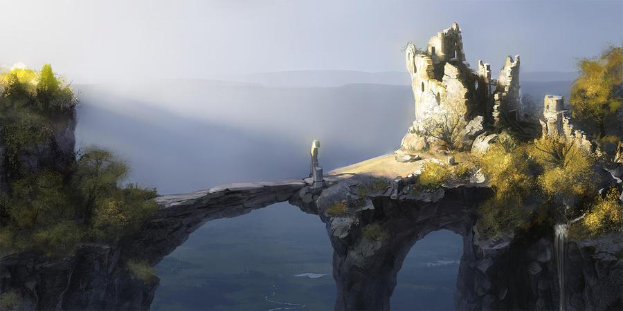 Old bridge by DmitryGrebenkov